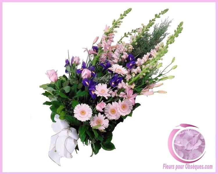 Livraison fleurs deuil PARIS