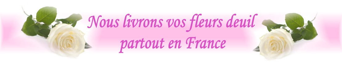fleurs deuil FORT DE FRANCE