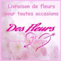 des fleurs comme j'aime