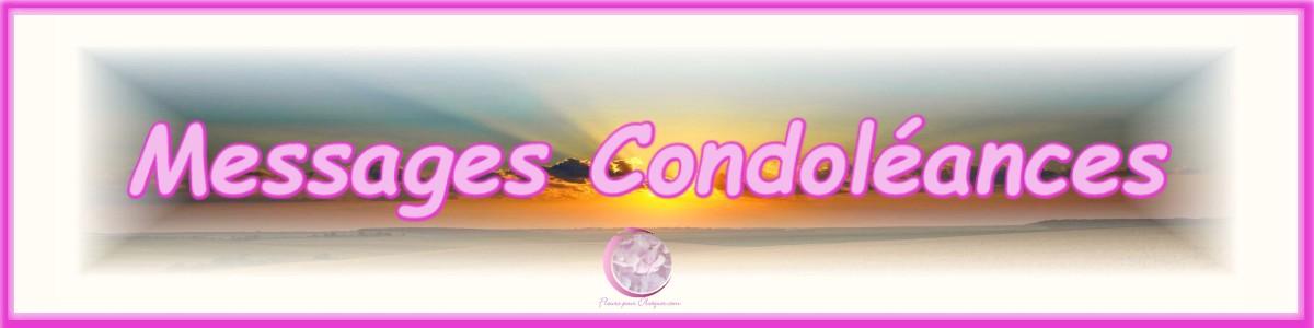 MESSAGE DE CONDOLEANCES FLEURS DEUIL
